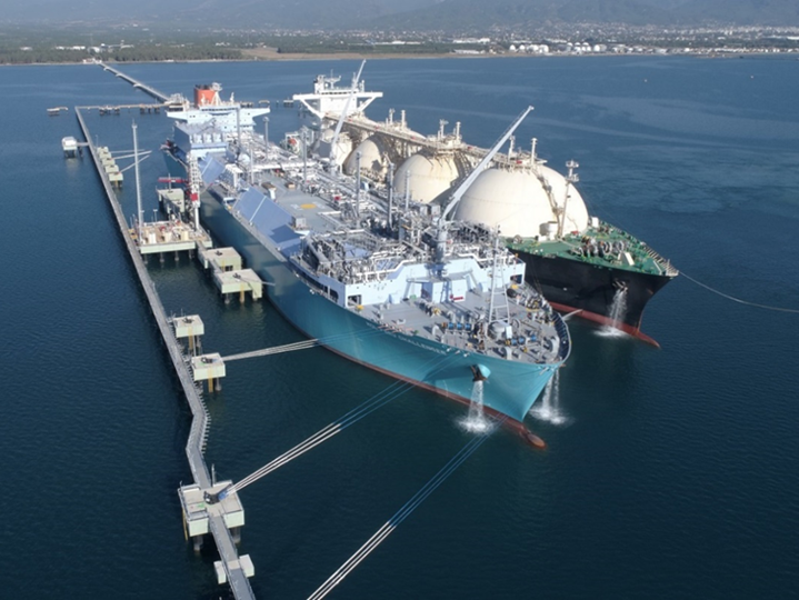 LNG Vessel slider